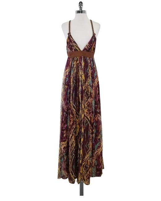 Preload https://img-static.tradesy.com/item/25342055/catherine-malandrino-brown-women-s-multi-color-silk-new-long-casual-maxi-dress-size-10-m-0-1-650-650.jpg