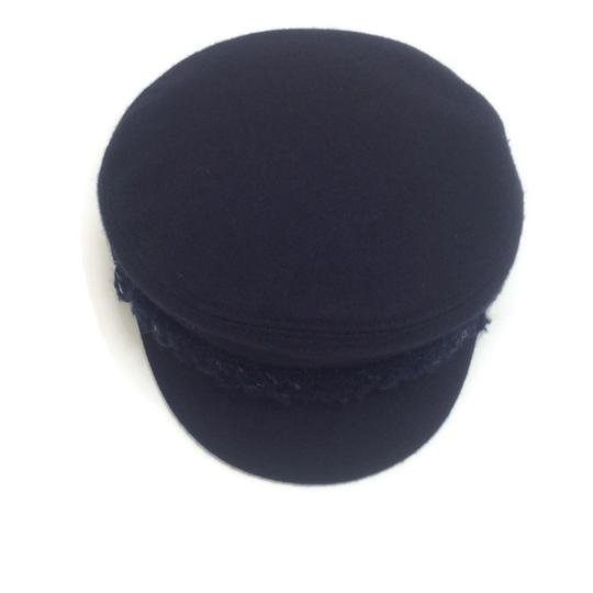 Chanel Wool Felt Newsboy Cap Image 3