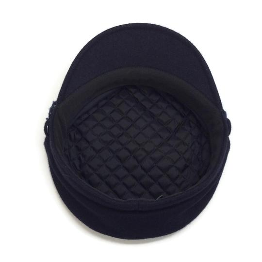 Chanel Wool Felt Newsboy Cap Image 5