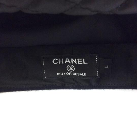Chanel Wool Felt Newsboy Cap Image 7