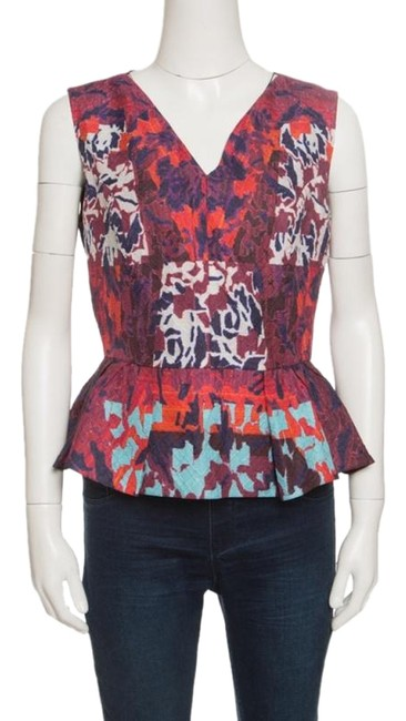 Preload https://img-static.tradesy.com/item/25342149/peter-pilotto-multicolor-textured-water-orchid-print-cloque-peplum-m-blouse-size-8-m-0-3-650-650.jpg