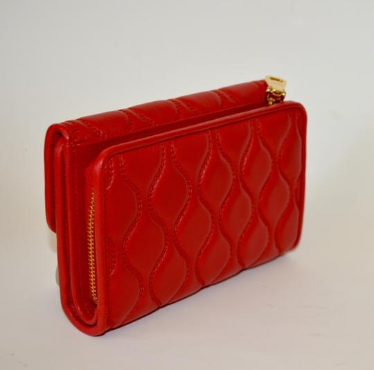 Miu Miu NEW MIU MIU WALLET LEATHER QUILTED WOMENS MADE IN ITALY Image 2