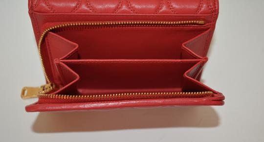 Miu Miu NEW MIU MIU WALLET LEATHER QUILTED WOMENS MADE IN ITALY Image 7