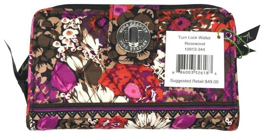 Preload https://img-static.tradesy.com/item/25342269/vera-bradley-rosewood-turnlock-in-wallet-0-1-540-540.jpg
