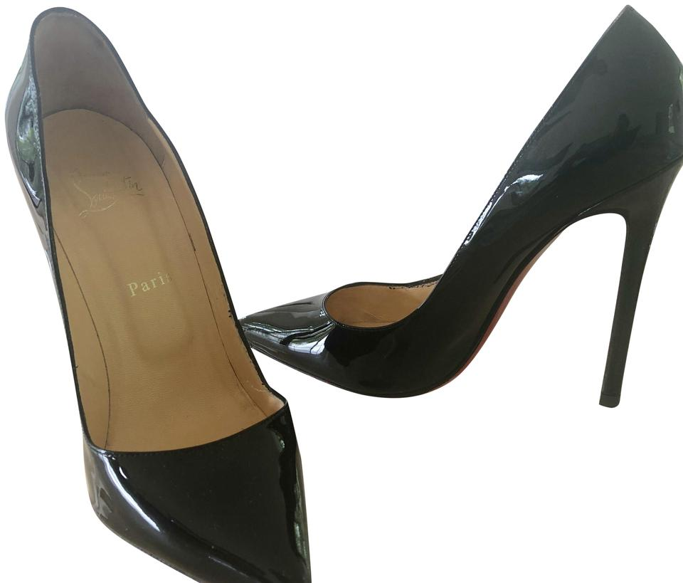 huge discount 9417f ae4b2 Christian Louboutin Black Patent Leather So Kate Pumps Size EU 41 (Approx.  US 11) Regular (M, B) 54% off retail