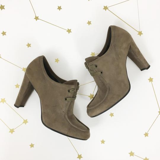 Stuart Weitzman Suede Taupe Boots Image 1
