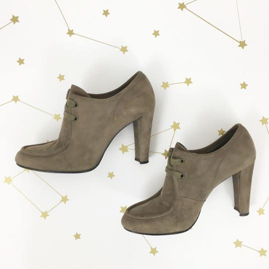 Stuart Weitzman Suede Taupe Boots Image 3