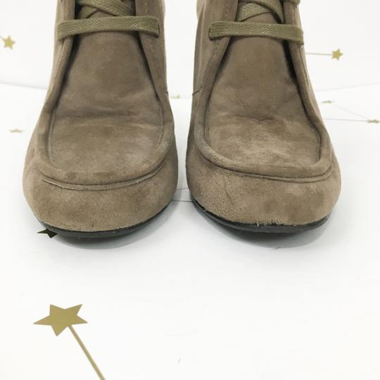 Stuart Weitzman Suede Taupe Boots Image 4