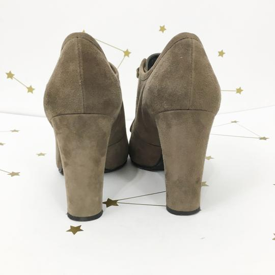 Stuart Weitzman Suede Taupe Boots Image 5