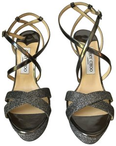 Jimmy Choo Anthracite Sandals