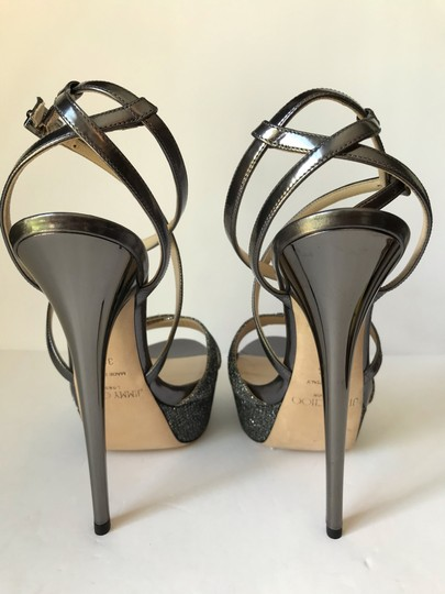 Jimmy Choo Anthracite Sandals Image 1