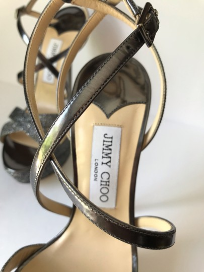 Jimmy Choo Anthracite Sandals Image 2