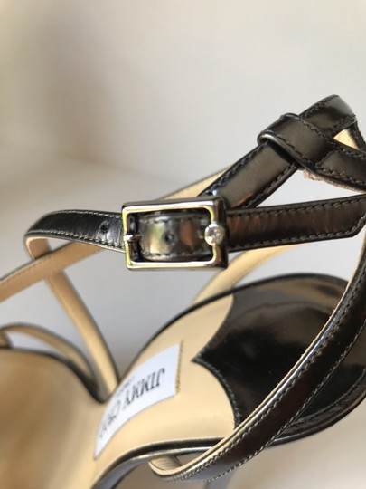 Jimmy Choo Anthracite Sandals Image 3