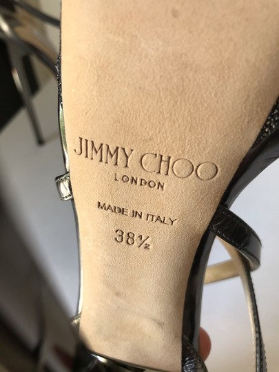 Jimmy Choo Anthracite Sandals Image 5