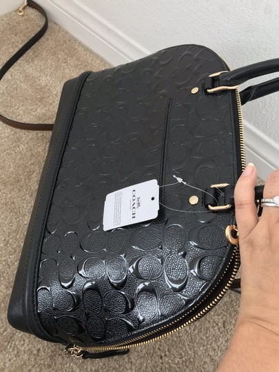 Coach Mini Sierra Blush Sierra Satchel in Black Image 3