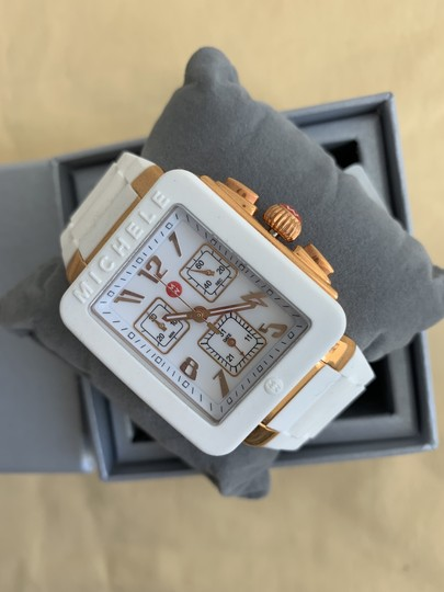 Michele $400 NWT PARK JELLY BEAN WATCH MWW06L000014 Image 1