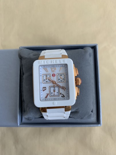 Michele $400 NWT PARK JELLY BEAN WATCH MWW06L000014 Image 3