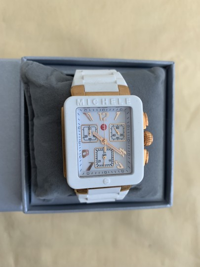 Michele $400 NWT PARK JELLY BEAN WATCH MWW06L000014 Image 4