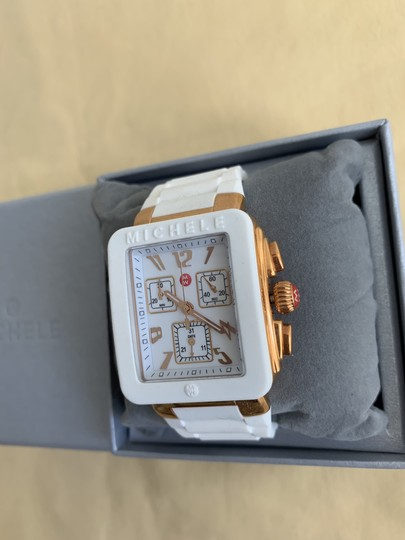 Michele $400 NWT PARK JELLY BEAN WATCH MWW06L000014 Image 5
