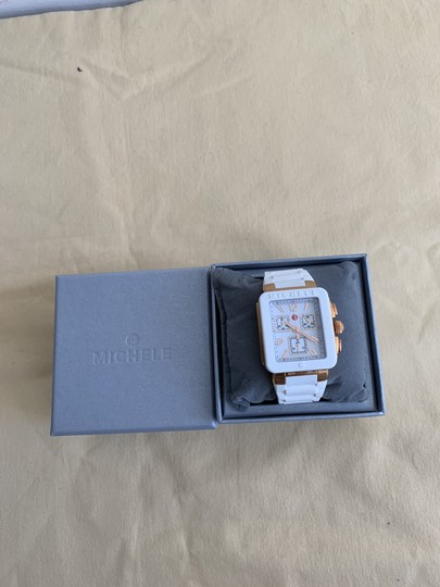 Michele $400 NWT PARK JELLY BEAN WATCH MWW06L000014 Image 6