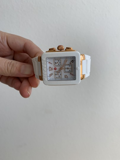 Michele $400 NWT PARK JELLY BEAN WATCH MWW06L000014 Image 7
