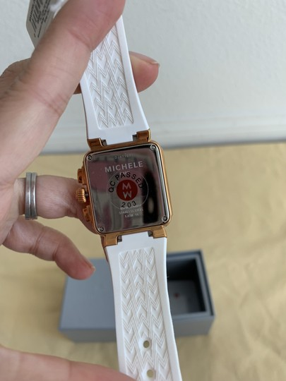 Michele $400 NWT PARK JELLY BEAN WATCH MWW06L000014 Image 9