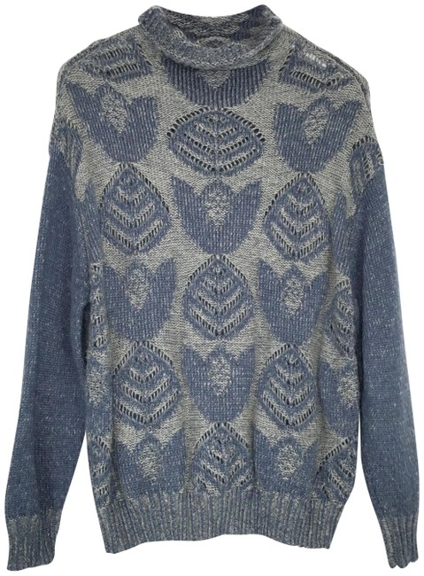 Preload https://img-static.tradesy.com/item/25342533/anthropologie-hansel-from-basel-stitched-foliage-printed-blue-gray-sweater-0-1-650-650.jpg
