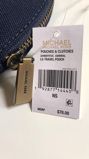 MICHAEL Michael Kors MICHAEL Michael KORS Large Travel Pouch Admiral Image 1