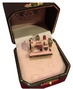 Juicy Couture NEW! JUICY COUTURE RARE & ABSOLUTELY GORGEOUS PAVE PINK SEWING MACHINE CHARM!!