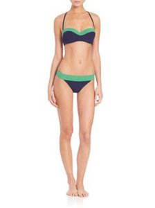 Tory Burch Tory Burch hipster two tone Bikini