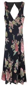 Black Maxi Dress by Privacy Please Floral Maxi Cut-out