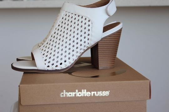 Charlotte Russe White Sandals Image 4