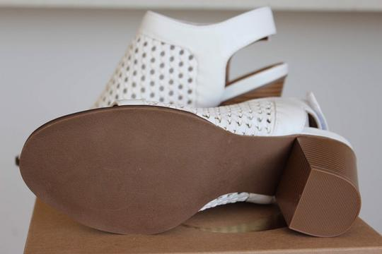 Charlotte Russe White Sandals Image 5