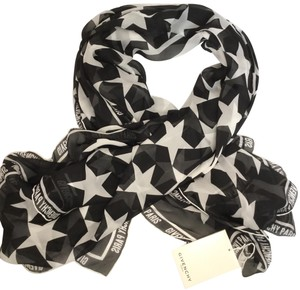 Givenchy Givenchy 74 Square Silk Scarf