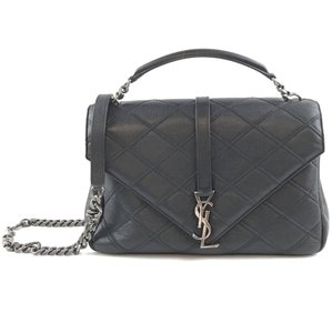 Saint Laurent Ysl Monogram College Flap With Strap Cross Body Bag