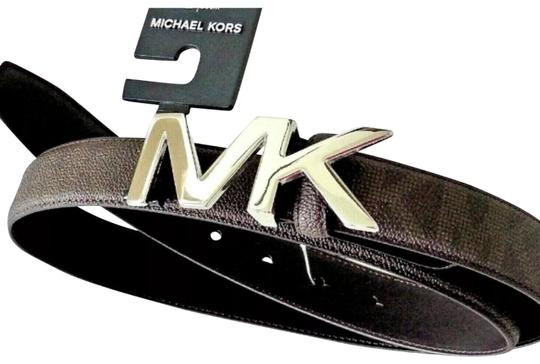 Preload https://img-static.tradesy.com/item/25343230/michael-kors-31-m-and-m-hardware-38-inch-95-cm-brown-belt-0-2-540-540.jpg