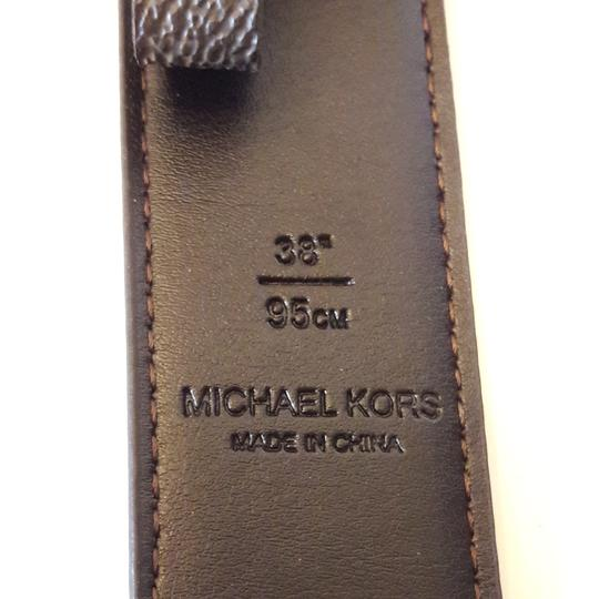 Michael Kors Michael Kors 31 M&M Hardware belt. 38 inch / 95 CM Brown Image 5
