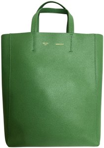 Céline Small Veritcal Cabas Tote in Green