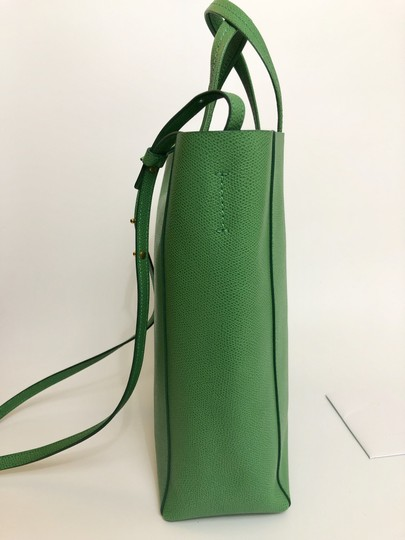Céline Small Veritcal Cabas Tote in Green Image 2
