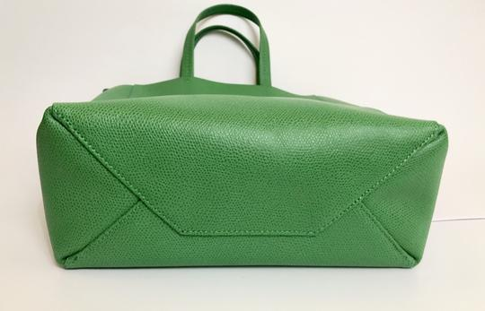 Céline Small Veritcal Cabas Tote in Green Image 4