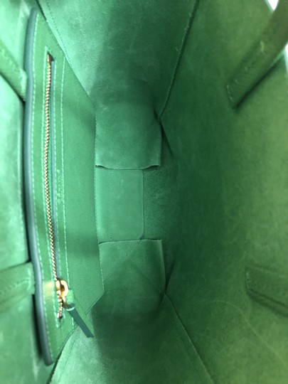 Céline Small Veritcal Cabas Tote in Green Image 5