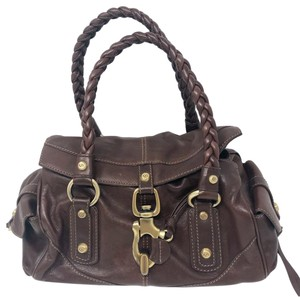 d32ece66ffd5 Francesco Biasia Satchel in Dark brown