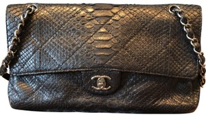 Chanel Python Flap Shoulder Bag