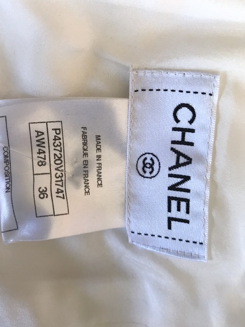 Chanel Skirt Ecru Image 9