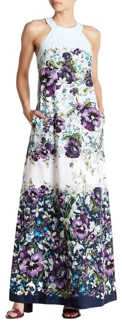 Preload https://img-static.tradesy.com/item/25344843/ted-baker-blue-purple-green-ziloh-floral-print-back-cut-long-casual-maxi-dress-size-4-s-0-1-650-650.jpg