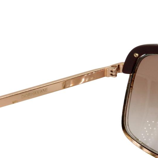 Dior Gold Tone Metal Frame Pilot Unisex 2X Rx Tinted Sunglasses Image 10