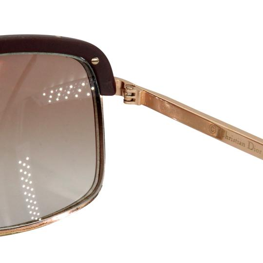 Dior Gold Tone Metal Frame Pilot Unisex 2X Rx Tinted Sunglasses Image 11