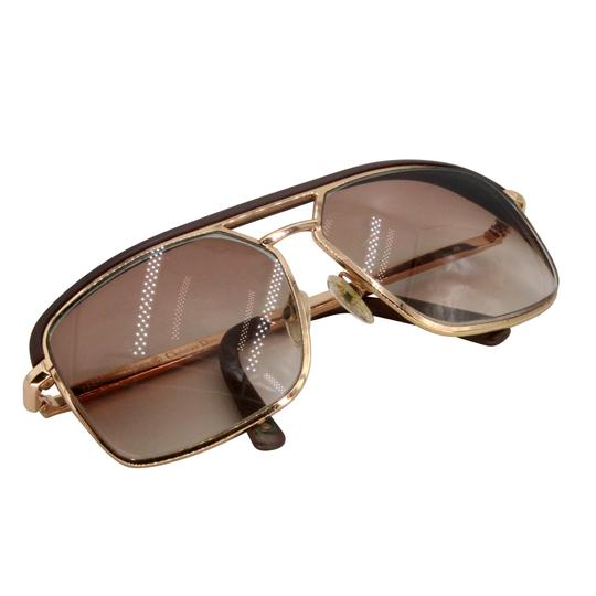 Dior Gold Tone Metal Frame Pilot Unisex 2X Rx Tinted Sunglasses Image 5
