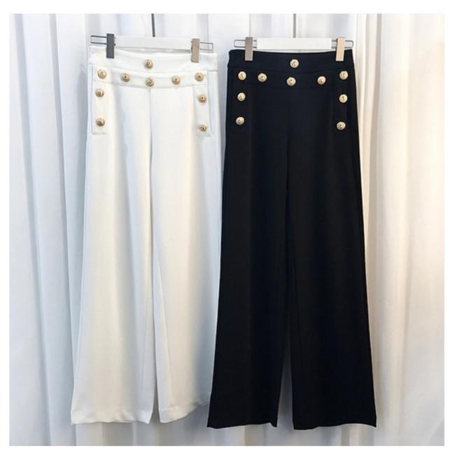 ME Boutiques Private Label Collection Trouser Pants Black Image 2