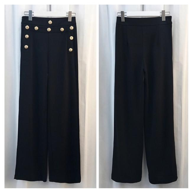 ME Boutiques Private Label Collection Trouser Pants Black Image 4